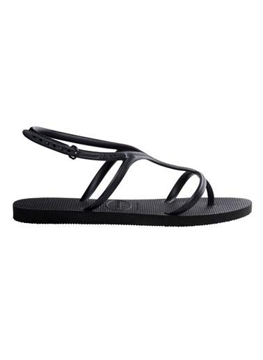 Havaianas Sandalet Siyah